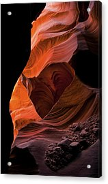 Left By Floodwaters Acrylic Print by Mike  Dawson