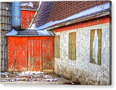 Left For The Banker Acrylic Print by Robert Pearson