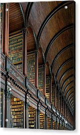 Left Wing Of The Long Room Acrylic Print