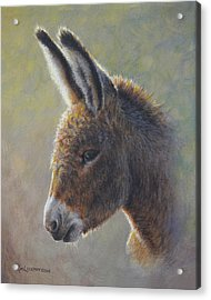 Acrylic Print featuring the painting Lefty by Kim Lockman