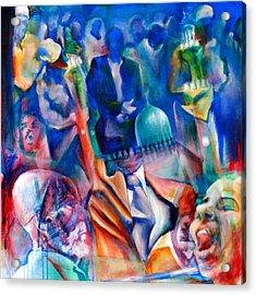 Legacies Of Resistance Acrylic Print by Khalid Hussein