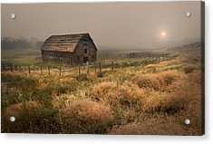 Legacy - Haynes Ranch Barn Acrylic Print by John Poon
