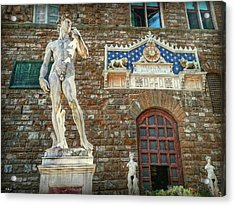 Acrylic Print featuring the photograph Legal Nudity by Hanny Heim