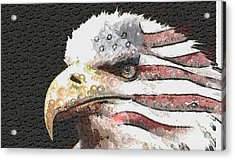 Legally Unlimited Eagle Acrylic Print