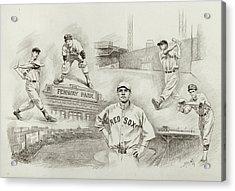 Legend Of Boston Red Sox Acrylic Print