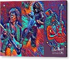 Legendary Shredders - Psychedelic Solo Acrylic Print