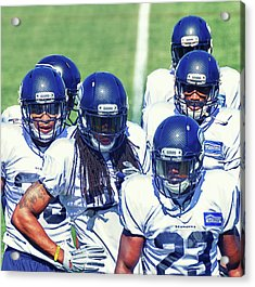 Legion Of Boom Acrylic Print