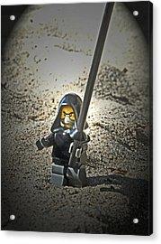 Lego Ninja Acrylic Print