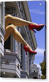Legs Haight Ashbury Acrylic Print by Garry Gay