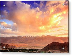 Acrylic Print featuring the photograph Leh, Ladakh by Alexey Stiop