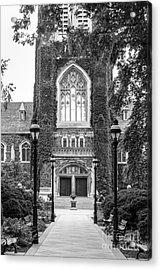 Lehigh University Memorial Walk Acrylic Print by University Icons