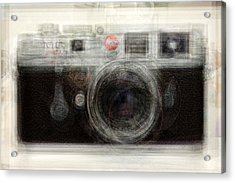 Leica Acrylic Print by Denis Bouchard