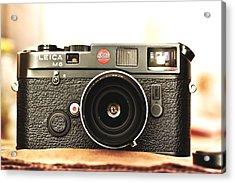 Leica M6  Acrylic Print by Hsin Liu