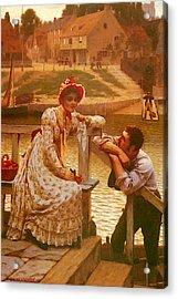 Leighton Edmund Blair Courtship Acrylic Print