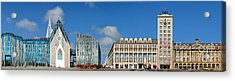 Leipzig Augustusplatz Panorama Acrylic Print by Joerg Dietrich
