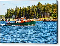 Acrylic Print featuring the photograph Leisure Time by Anthony Baatz