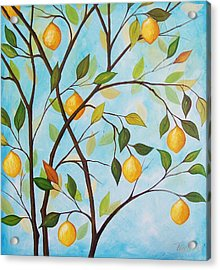 Lemom Tree Acrylic Print by Peggy Davis
