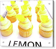 Acrylic Print featuring the photograph When Life Gives You Lemons by Beth Saffer
