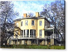 Lemon Hill Mansion Acrylic Print
