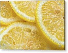 Lemon Slices Number 3 Acrylic Print