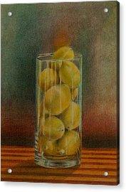 Lemon Stack Acrylic Print
