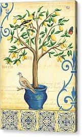 Lemon Tree Of Life Acrylic Print
