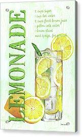 Lemonade Acrylic Print by Debbie DeWitt