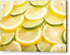 Lemons And Limes Acrylic Print by James BO  Insogna