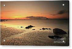Lendalfoot Sunset Ref8962 Acrylic Print