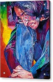 Lennon In Repose Acrylic Print