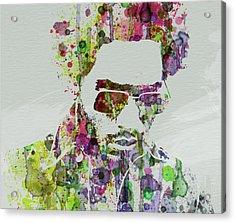 Lenny Kravitz 2 Acrylic Print by Naxart Studio