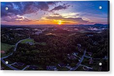 Lenoir North Carolina  Sunset Acrylic Print