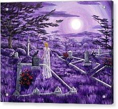 Lenore In Lavender Moonlight Acrylic Print