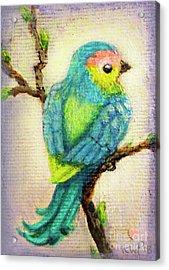 Lenten Love Bird Acrylic Print