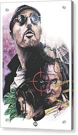 Leon The Professional Acrylic Print