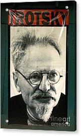 Leon Trotsky Poster Mexico City Acrylic Print