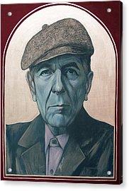 Leonard Cohen Acrylic Print by Jovana Kolic