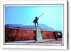 Leonidas At Thermopylae Ver 7 Acrylic Print