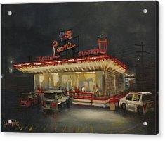 Leon's Frozen Custard Acrylic Print by Tom Shropshire