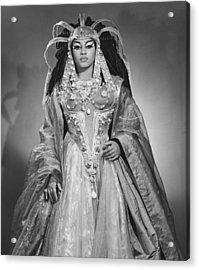 Leontyne Price B. 1927, As Cleopatra Acrylic Print by Everett