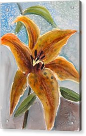 Leopard Lily Acrylic Print