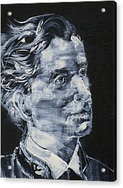 Leopold Von Sacher-masoch Acrylic Print by Fabrizio Cassetta
