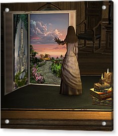 Let Your Imagination . . . Acrylic Print