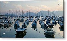 Lerici Marina Acrylic Print by Neil Buchan-Grant