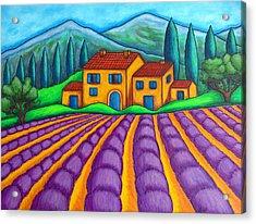 Les Couleurs De Provence Acrylic Print