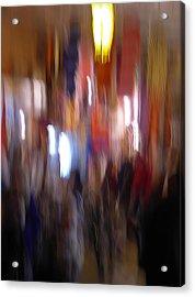 Les Couleurs Du Souk II Acrylic Print by Artecco Fine Art Photography