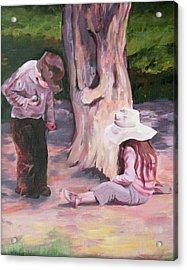 Les Enfant Aux Parc Mattisse Acrylic Print
