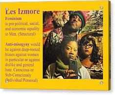 Les Izmore Feminism Acrylic Print