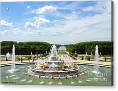 Les Jardins De Versailles By Taikan Acrylic Print