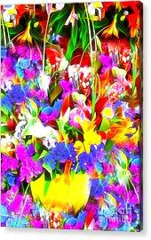 Les Jolies Fleurs Acrylic Print